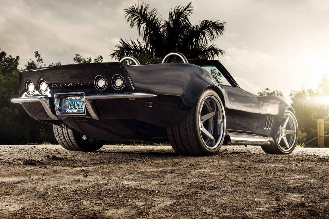 1969 Chevrolet Corvette Convertible Streetrod Street Rod USA 1500x1000-01 wallpaper