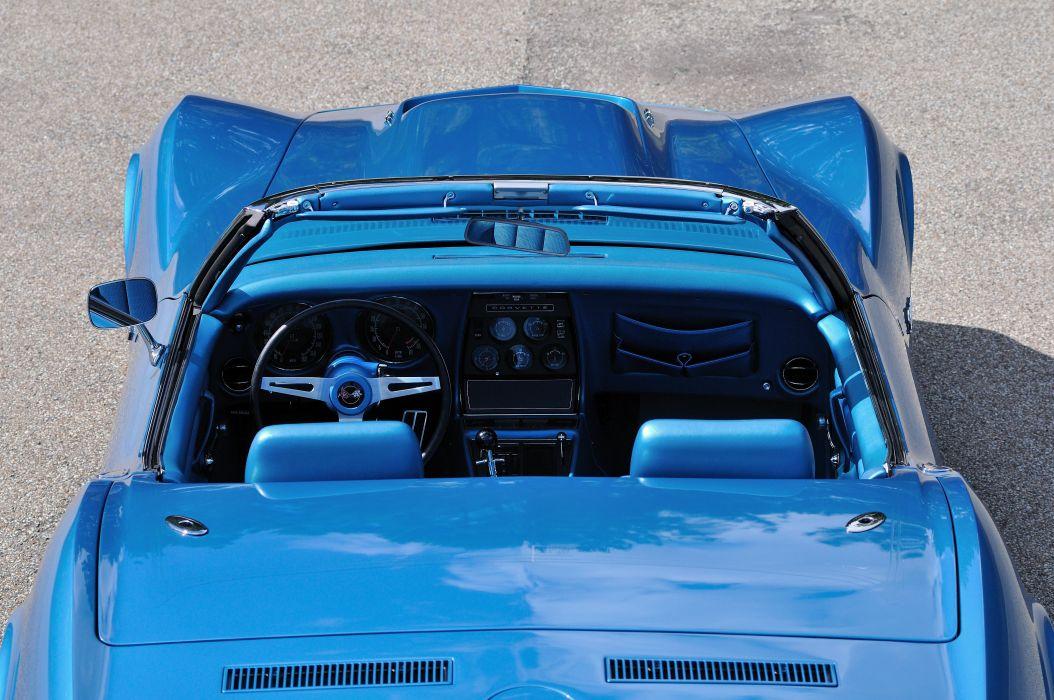 1969 Chevrolet Corvette Stingray L88 Convertible Blue Muscle Classic USA 4288x2848-08 wallpaper