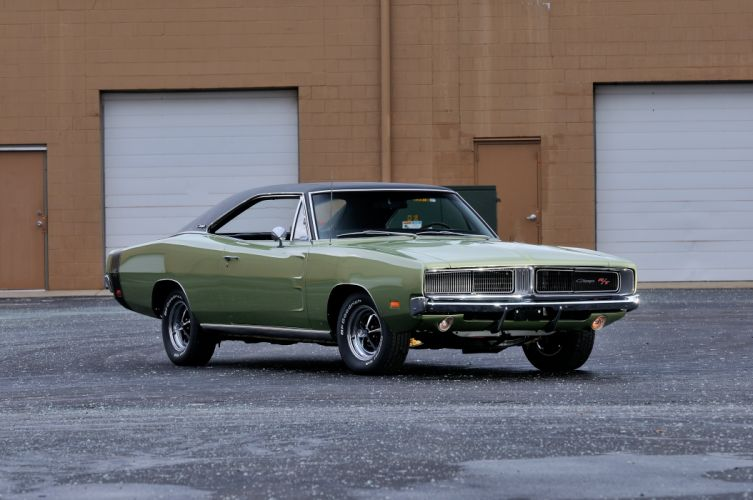 1969 Dodge Charger RT Muscle Classic USA 4200x2790-01 wallpaper