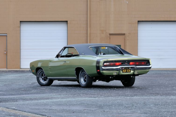 1969 Dodge Charger RT Muscle Classic USA 4200x2790-03 wallpaper