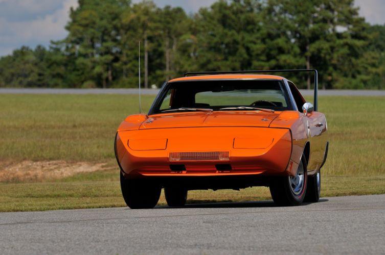 1969 Dodge Daytona Orange Muscle Classic USA 4200x2790-08 wallpaper