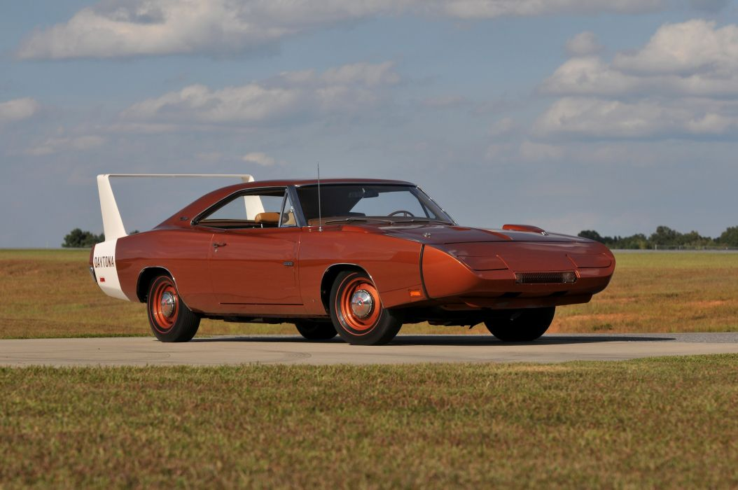 1969 Dodge Hemi Daytona Muscle Red Classic USA-4200x2790-09 wallpaper