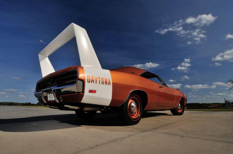 1969 Dodge Hemi Daytona Muscle Red Classic USA-4200x2790-08 wallpaper