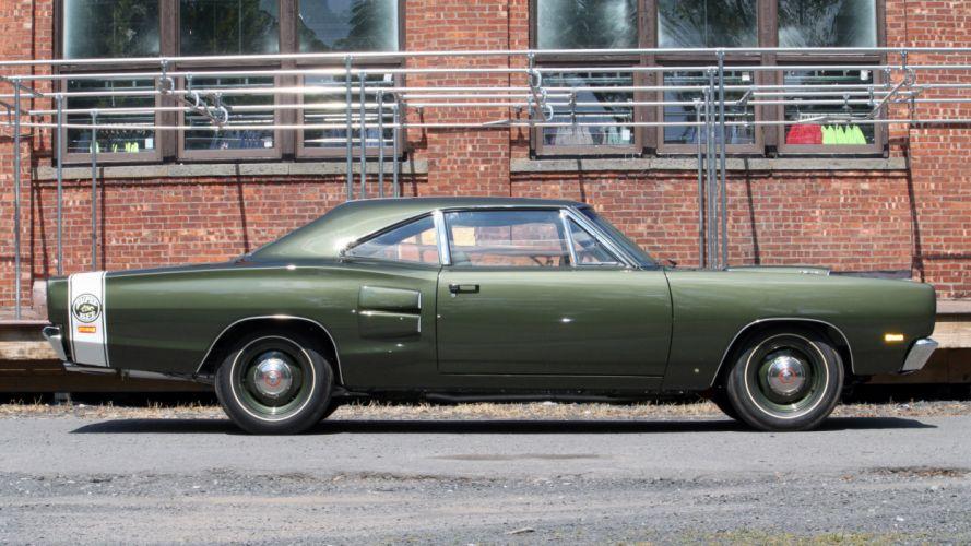 1969 Dodge Hemi Super Bee Green Muscle Classic USA 4500x2530-01 wallpaper