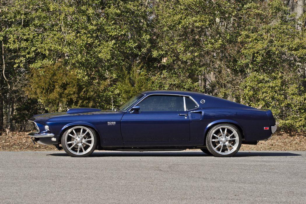 1969 Ford Mustang Boss VST Streetrod Street Rod Hot USA 4500x3000-04 wallpaper