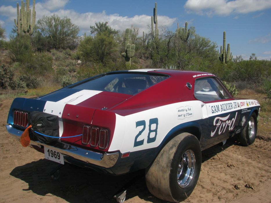 1969 Ford Mustang Mach1 Pro Stock Drag Dragster Race USA 3200x2400-02 wallpaper