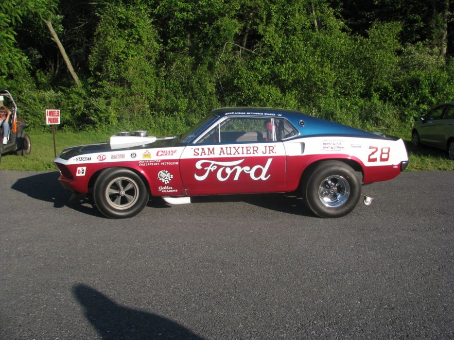 1969 Ford Mustang Mach1 Pro Stock Drag Dragster Race USA 3200x2400-04 wallpaper
