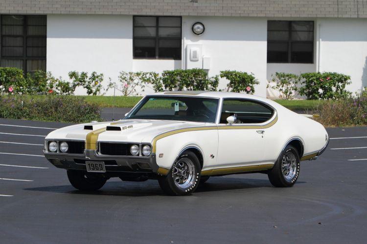 1969 Oldsmobile Hurst Hust Olds HO 455 White Muscle Classic USA 1600x1067-01 wallpaper