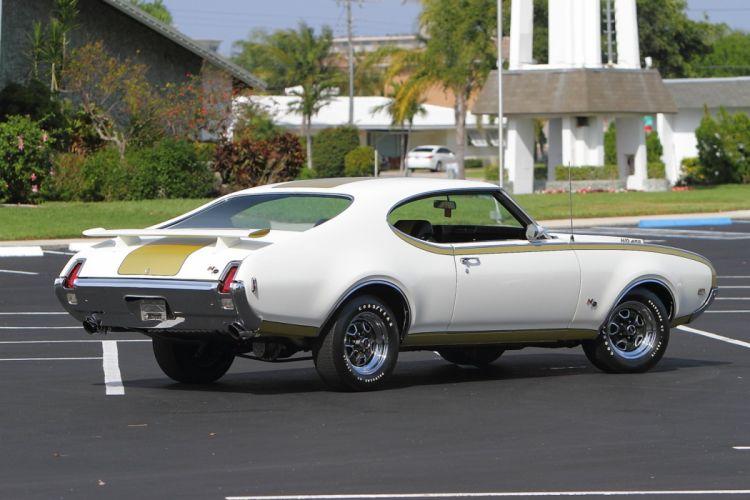 1969 Oldsmobile Hurst Hust Olds HO 455 White Muscle Classic USA 1600x1067-06 wallpaper