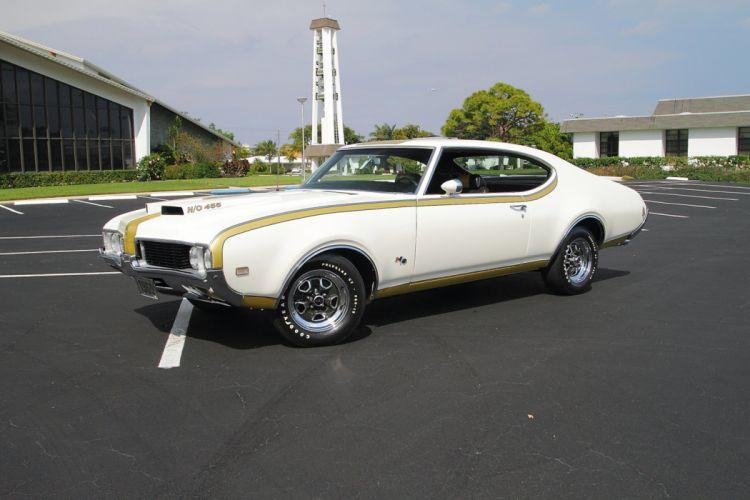 1969 Oldsmobile Hurst Hust Olds HO 455 White Muscle Classic USA 1600x1067-14 wallpaper