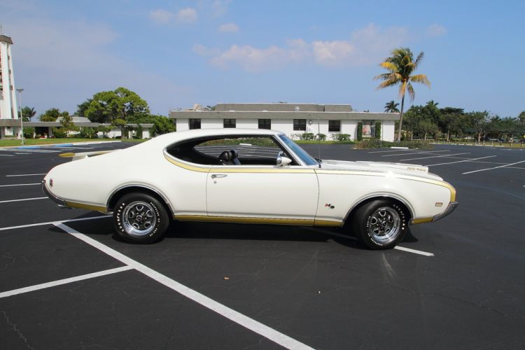 1969 Oldsmobile Hurst Hust Olds HO 455 White Muscle Classic USA 1600x1067-16 wallpaper