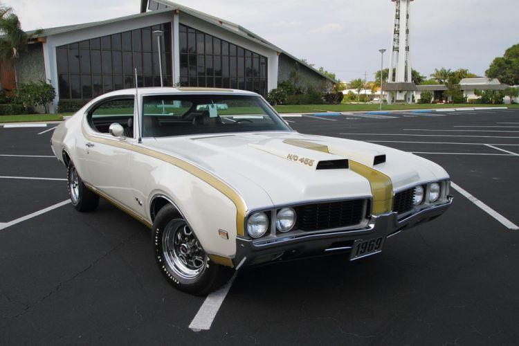 1969 Oldsmobile Hurst Hust Olds HO 455 White Muscle Classic USA 1600x1067-18 wallpaper