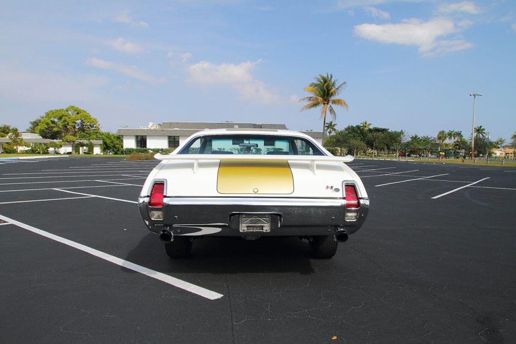 1969 Oldsmobile Hurst Hust Olds HO 455 White Muscle Classic USA 1600x1067-22 wallpaper