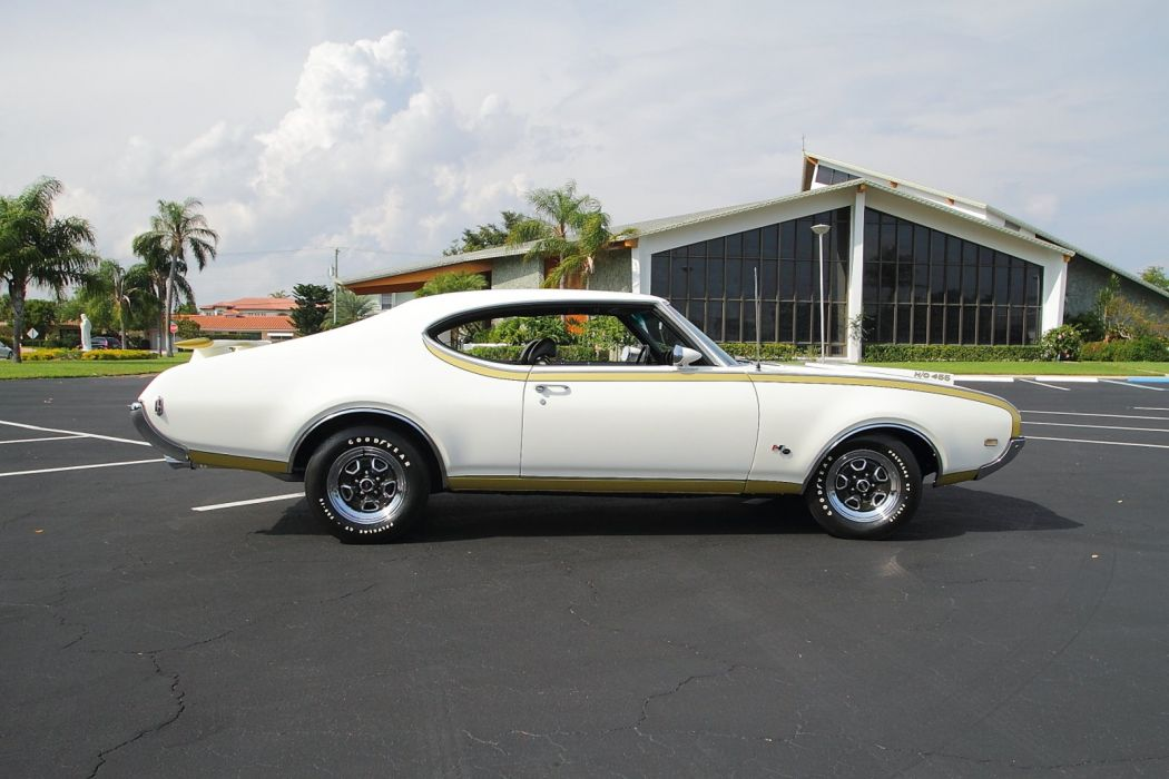 1969 Oldsmobile Hurst Hust Olds HO 455 White Muscle Classic USA 1600x1067-24 wallpaper