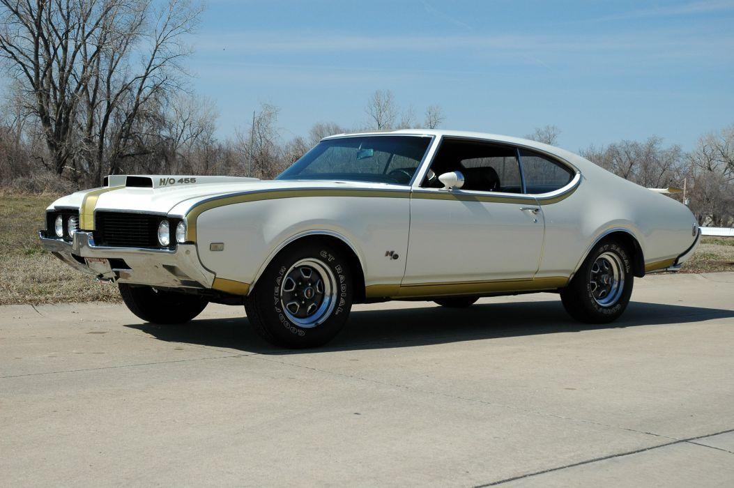 1969 Oldsmobile Hurst Hust Olds HO 455 White Muscle Classic USA 3000x2000-03 wallpaper