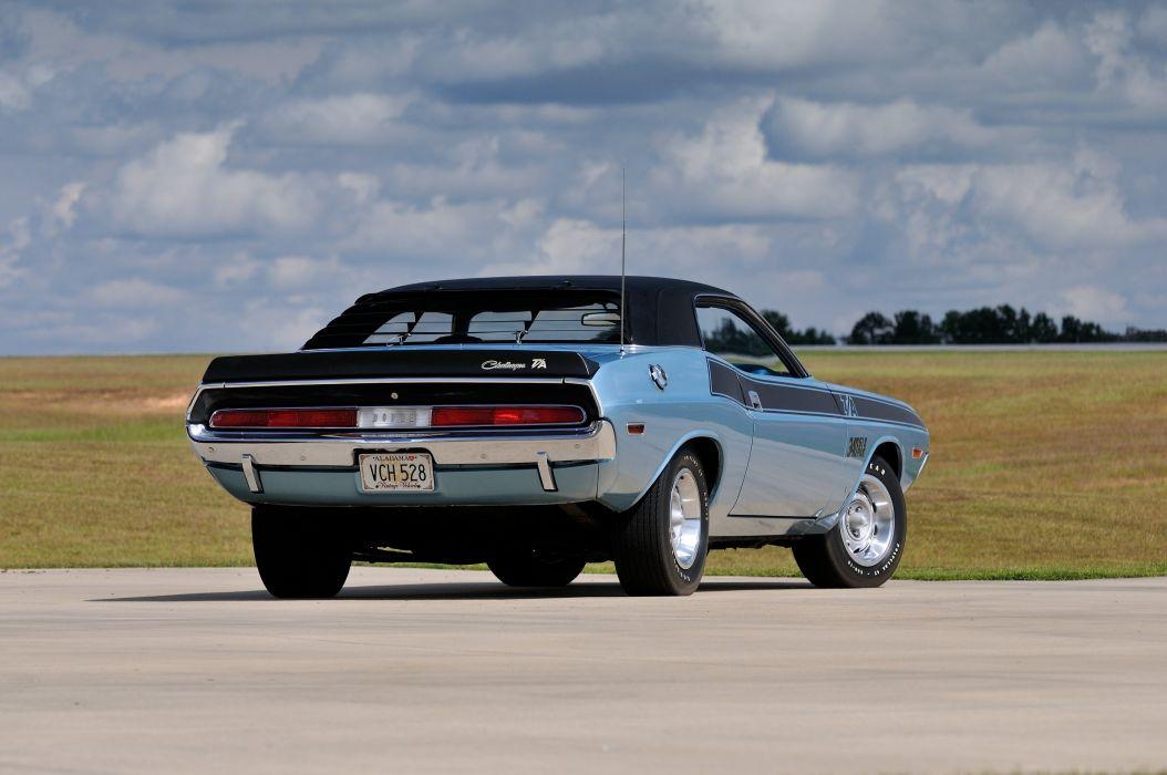 1970 Dodge Challenger TA 340 Six Pack Muscle Classic USA 4200x2790-03 wallpaper