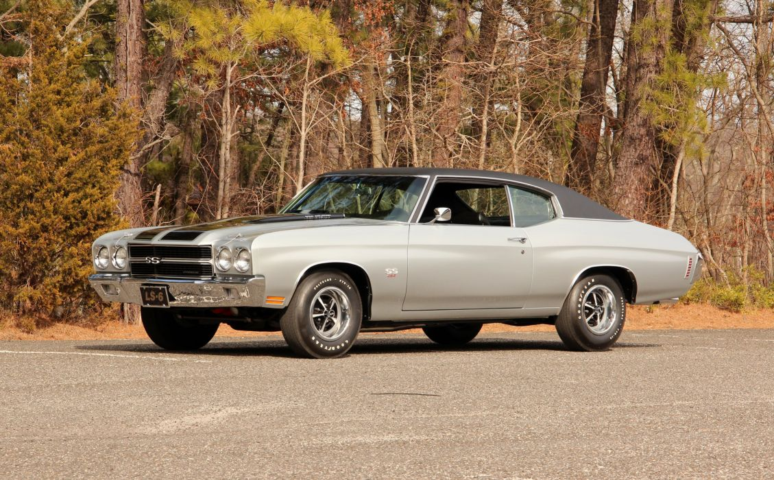 1970 Chevrolet Chevelle SS 454 LS 6 Silver Muscle Classic USA 5120x3170-01 wallpaper