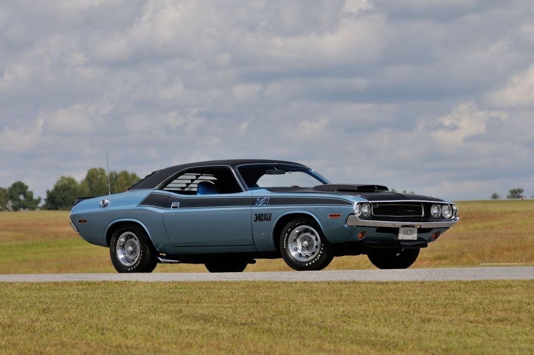 1970 Dodge Challenger Ta 340 Six Pack Muscle Classic Usa 4200x2790