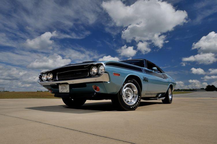 1970 Dodge Challenger TA 340 Six Pack Muscle Classic USA 4200x2790-05 wallpaper