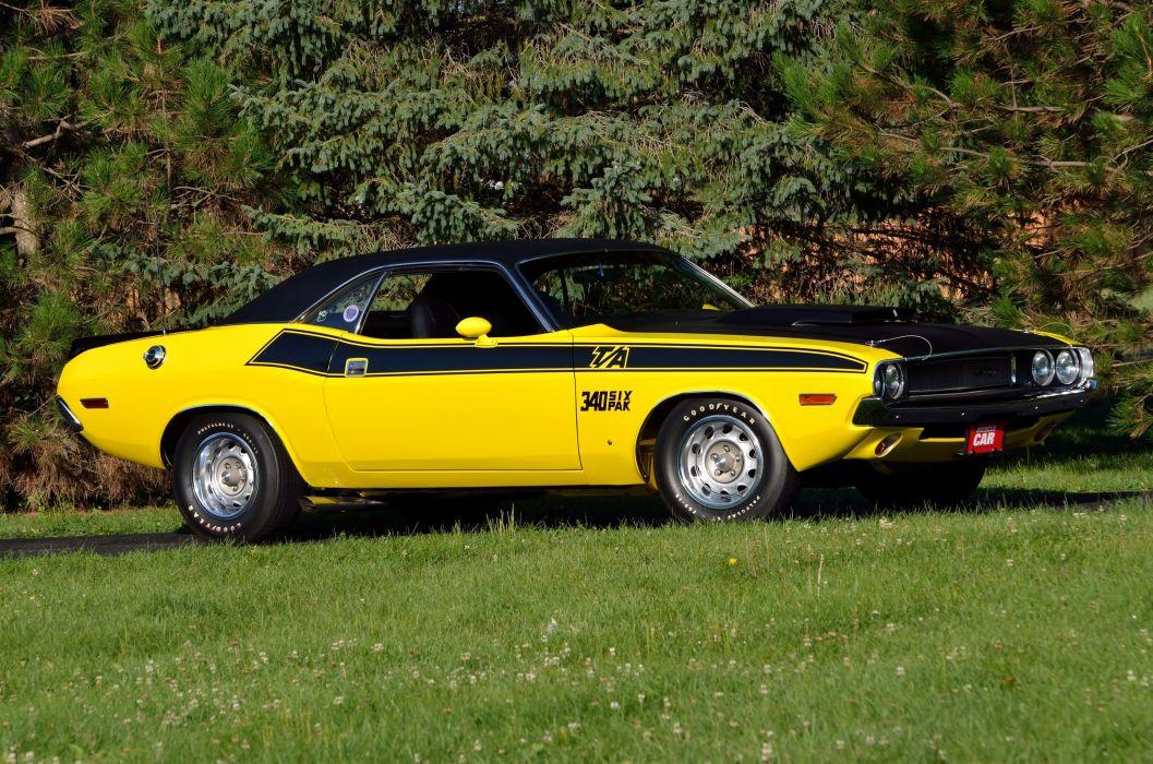 1970 Dodge Challenger TA 340 Six Pack Muscle Classic USA 4200x2790-12 wallpaper