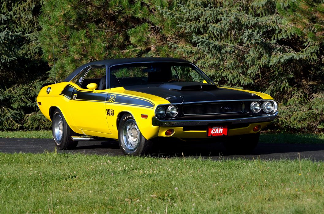 1970 Dodge Challenger TA 340 Six Pack Muscle Classic USA 4200x2790-13 wallpaper