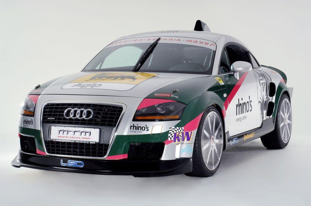 MTM Audi TT Bimoto Record Cars 2007 wallpaper