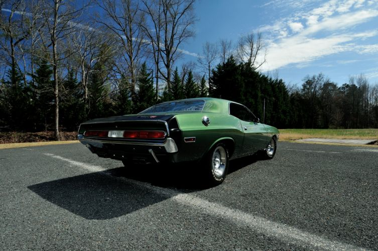 1970 Dodge Hemi Challenger RT Muscle Classic Old USA 4288x2848-09 wallpaper