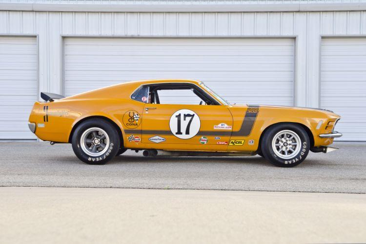 1970 Ford Mustang Boss 302 Kar Kraft Trans Am Racer Muscle USA 4200x2790-03 wallpaper