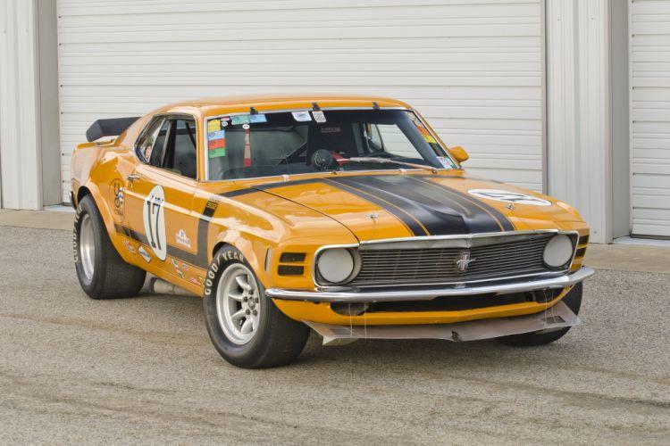 1970 Ford Mustang Boss 302 Kar Kraft Trans Am Racer Muscle USA 4200x2790-06 wallpaper