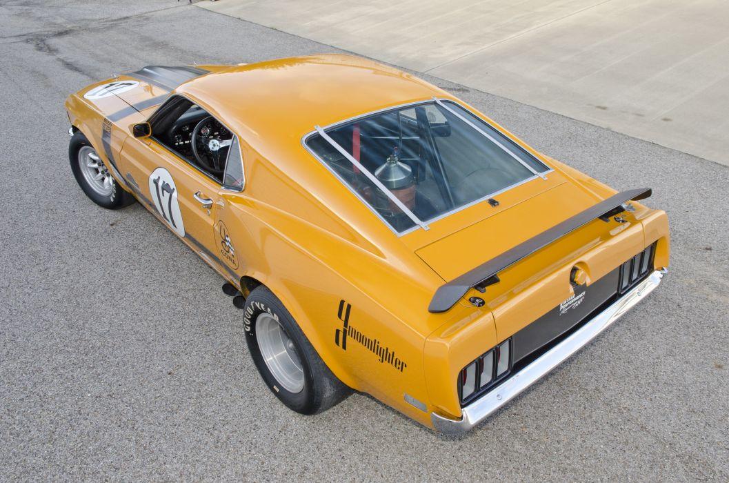 1970 Ford Mustang Boss 302 Kar Kraft Trans Am Racer Muscle USA 4200x2790-05 wallpaper
