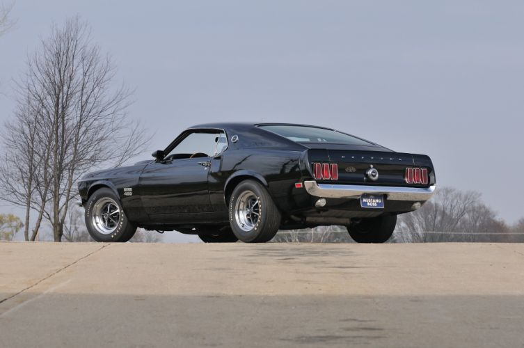 1970 Ford Mustang Boss 429 Fastback Muscle Classic USA 4200x2790-02 wallpaper