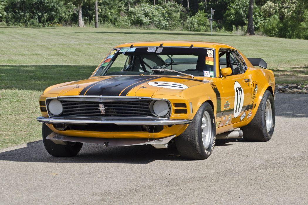 1970 Ford Mustang Boss 302 Kar Kraft Trans Am Racer Muscle USA 4200x2790-07 wallpaper