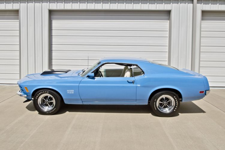 1970 Ford Mustang Boss 429 Fastback Muscle Classic USA 4200x2790-08 wallpaper