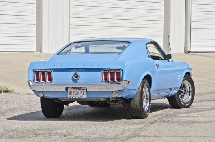 1970 Ford Mustang Boss 429 Fastback Muscle Classic USA 4200x2790-07 wallpaper