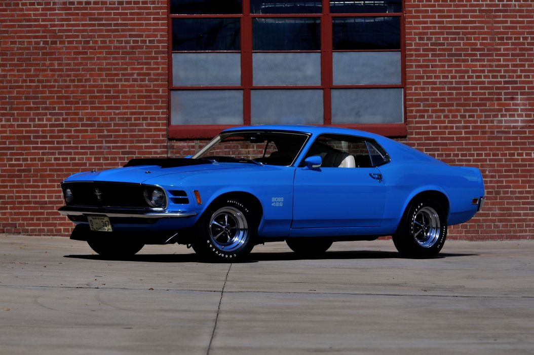 1970 Ford Mustang Boss 429 Fastback Muscle Classic USA 4200x2790-09 wallpaper