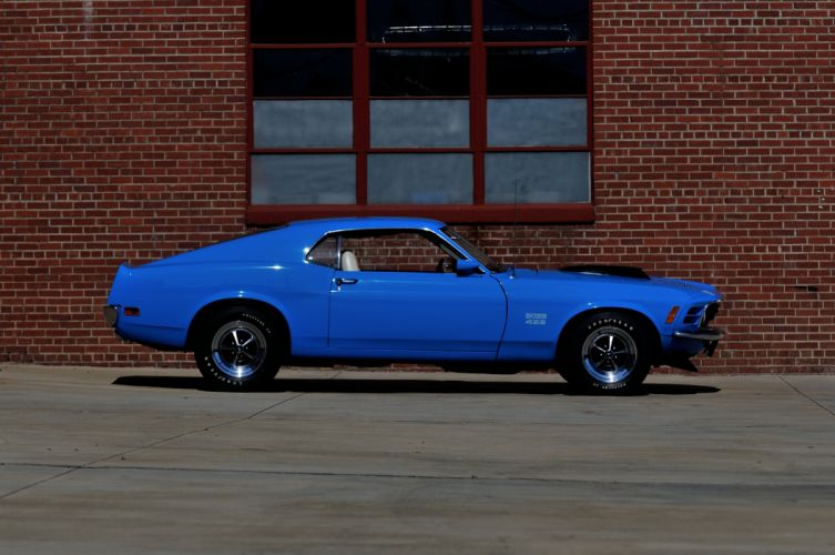 1970 Ford Mustang Boss 429 Fastback Muscle Classic USA 4200x2790-10 wallpaper