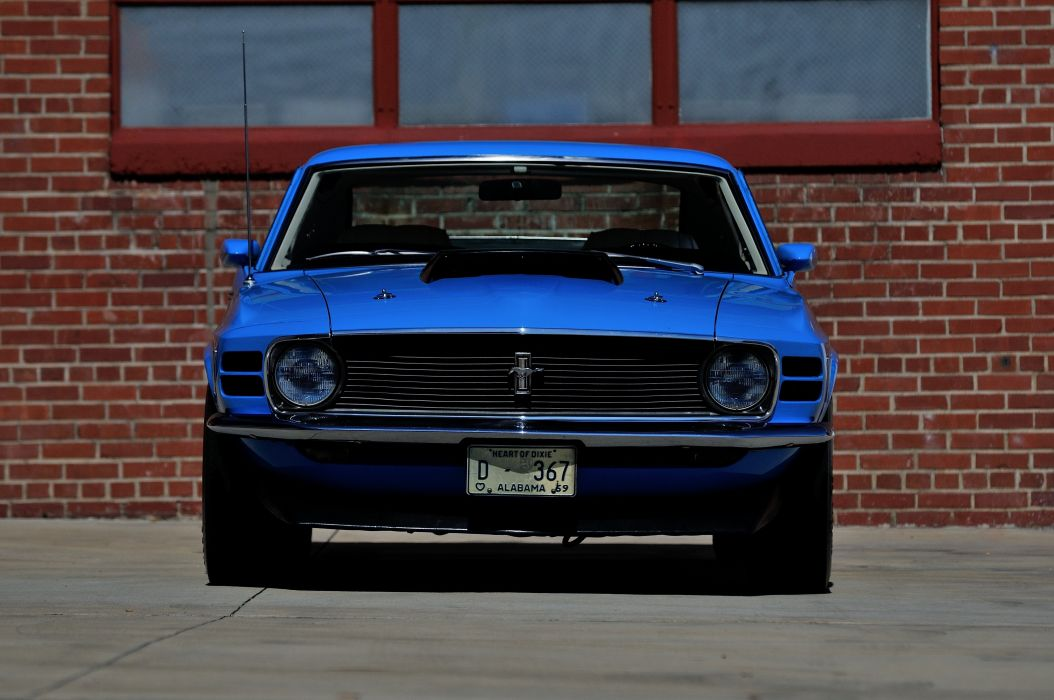 1970 Ford Mustang Boss 429 Fastback Muscle Classic USA 4200x2790-14 wallpaper