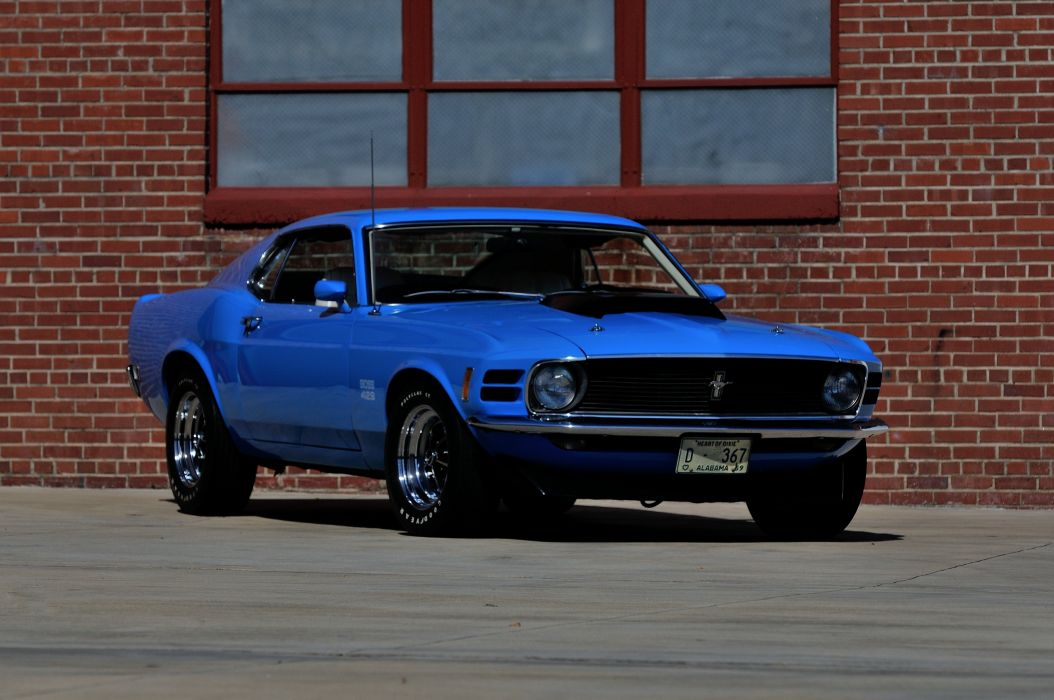 1970 Ford Mustang Boss 429 Fastback Muscle Classic USA 4200x2790-13 wallpaper