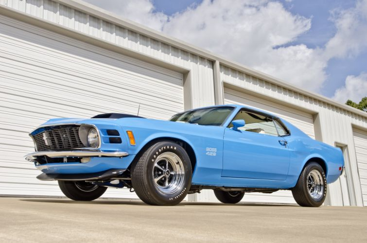 1970 Ford Mustang Boss 429 Fastback Muscle Classic USA 4200x2790-17 wallpaper