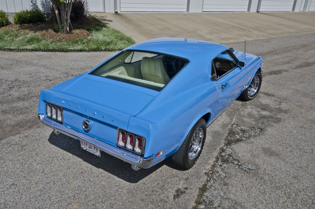 1970 Ford Mustang Boss 429 Fastback Muscle Classic USA 4200x2790-15 wallpaper