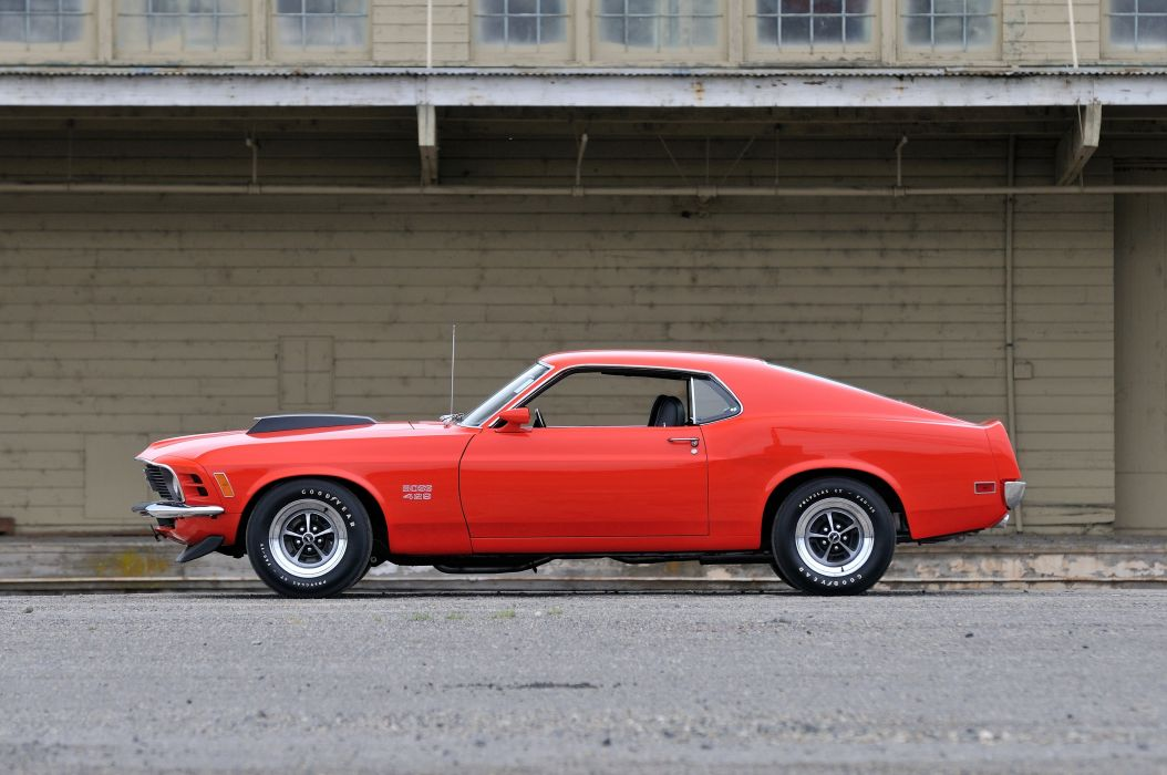 1970 Ford Mustang Boss 429 Fastback Muscle Classic USA 4200x2790-21 wallpaper