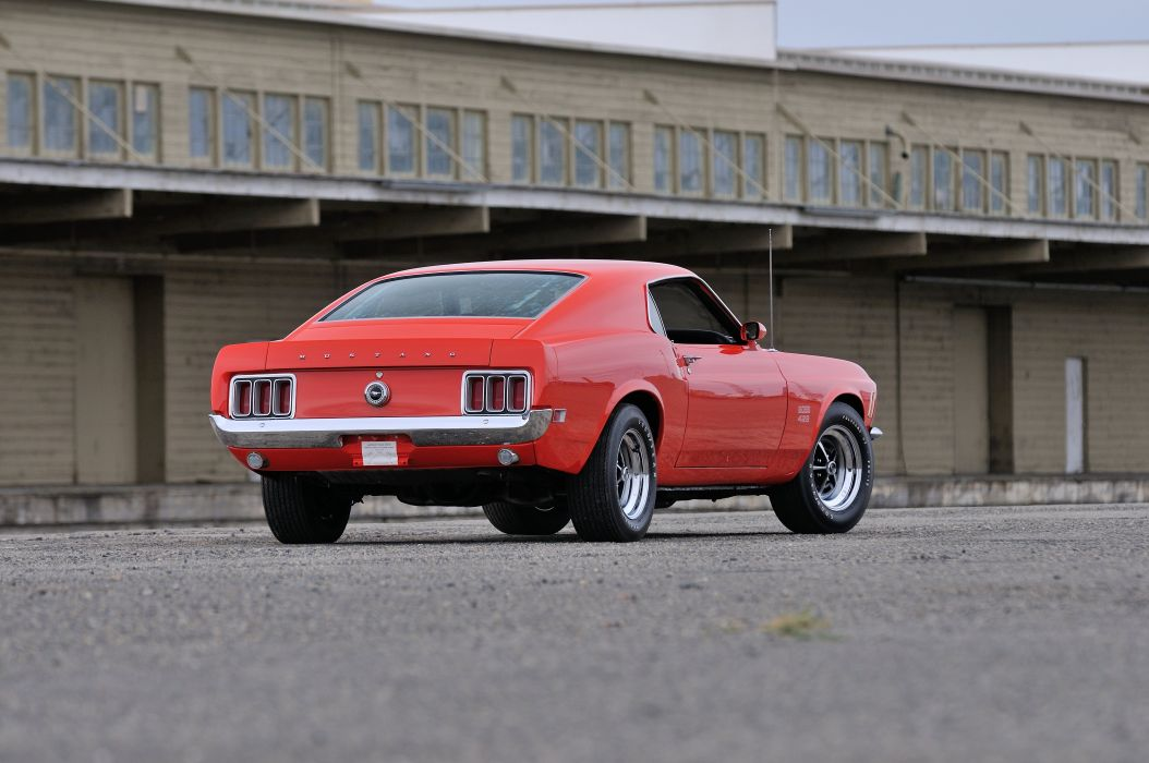 1970 Ford Mustang Boss 429 Fastback Muscle Classic USA 4200x2790-22 wallpaper