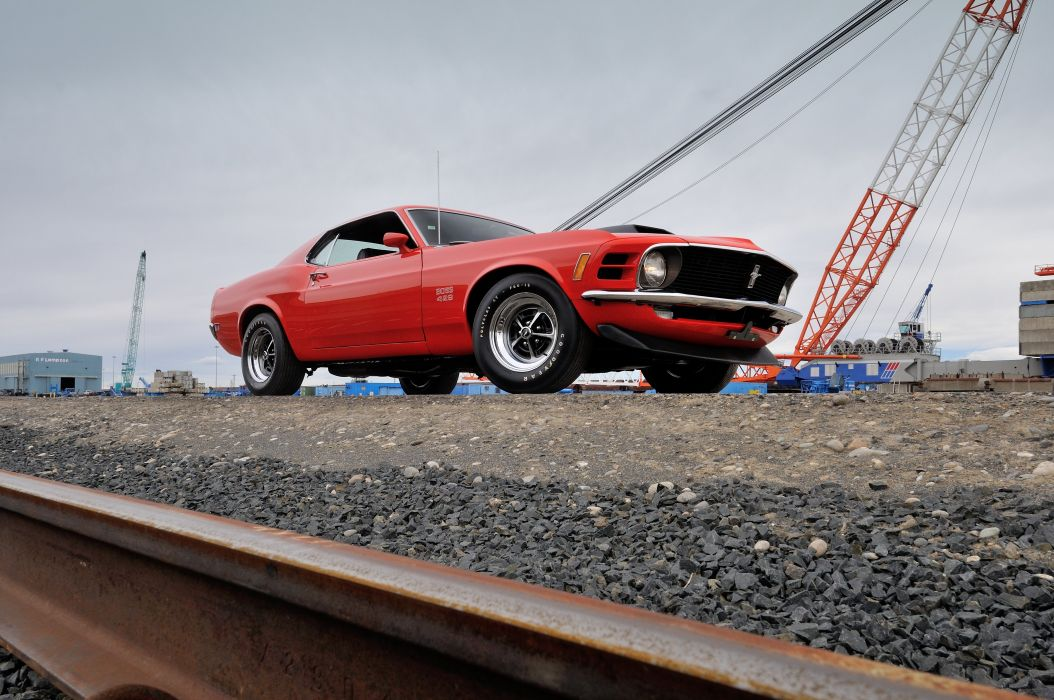1970 Ford Mustang Boss 429 Fastback Muscle Classic USA 4200x2790-25 wallpaper