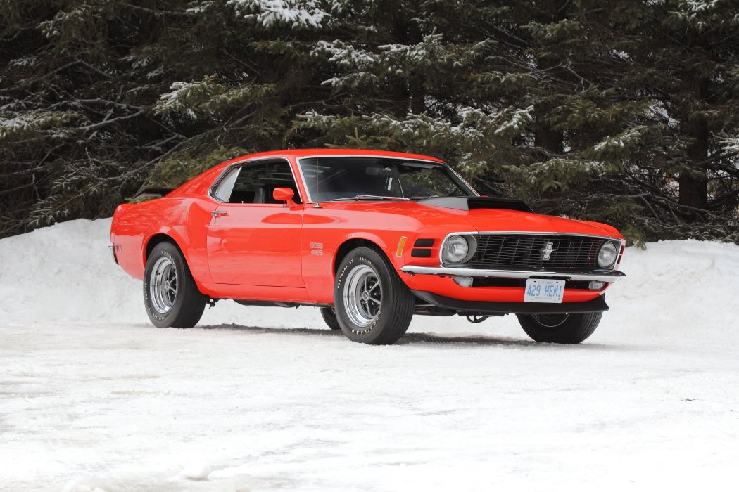 1970 Ford Mustang Boss 429 Fastback Muscle Classic USA 4200x2790-27 wallpaper