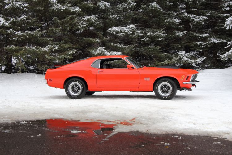 1970 Ford Mustang Boss 429 Fastback Muscle Classic USA 4200x2790-28 wallpaper