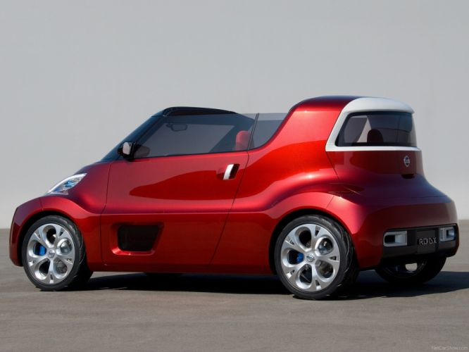 Nissan Round Box Concept cars 2007 wallpaper