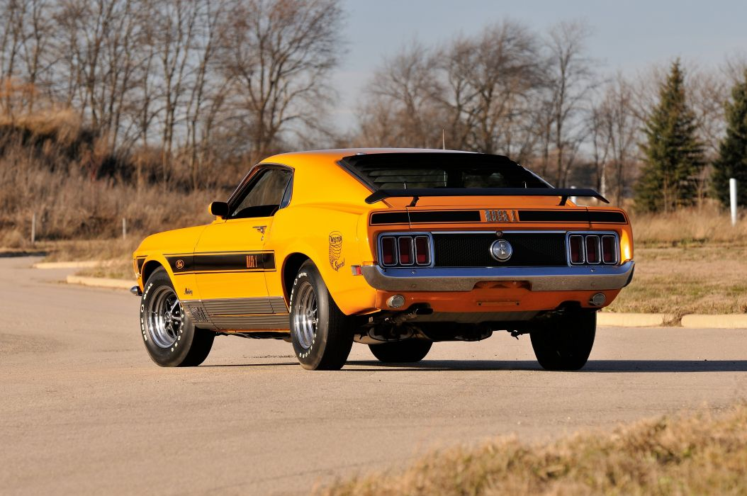 1970 Ford Mustang Mach1 Twister Special Muscle Classic 4200x2790-03 wallpaper