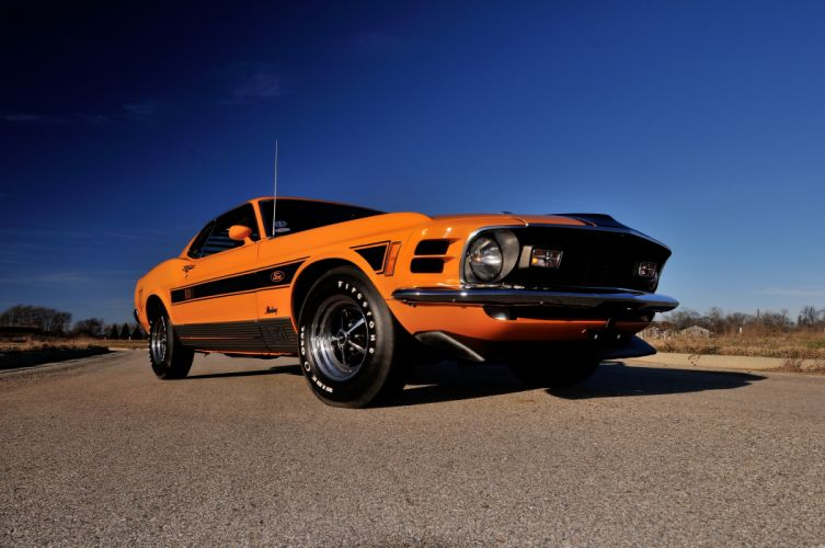 1970 Ford Mustang Mach1 Twister Special Muscle Classic 4200x2790-05 wallpaper