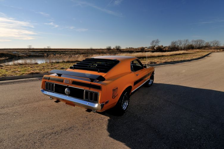 1970 Ford Mustang Mach1 Twister Special Muscle Classic 4200x2790-06 wallpaper