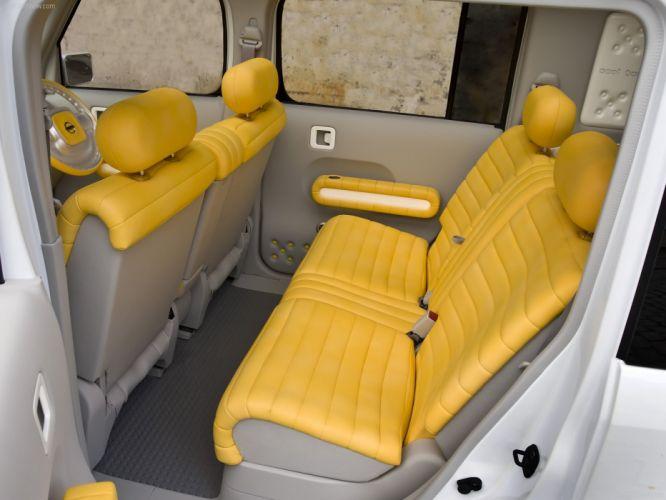 Nissan Denki Cube Concept cars 2008 electric wallpaper